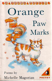 Orange Paw Marks by Michelle Magorian